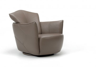 Fauteuil cuir PEPE