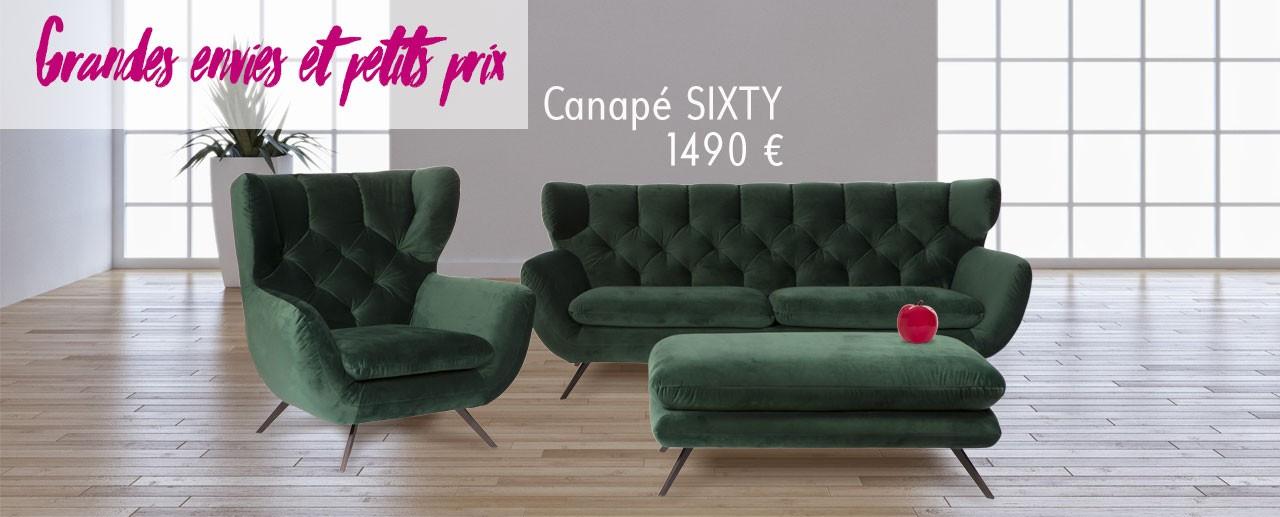 Canapé Club SIXTY